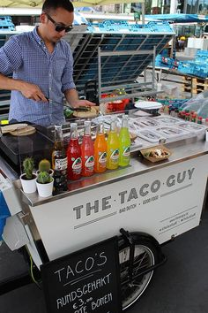 The Taco Guy by Pieter Boels. Food, drinks and a hint of green! #OnTheMove #Placemaking