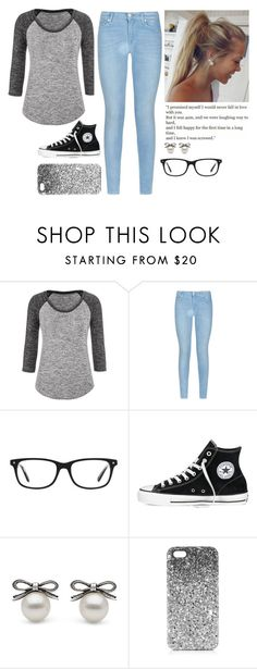"""""""4am"""" by savannah-luvs-1d ❤ liked on Polyvore featuring moda, maurices, 7 For All Mankind, Kensington Road, Converse e Topshop"""