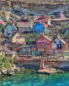 Popeye - Bajkowa wioska na Malcie.