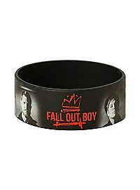 Fall Out Boy Images Rubber Bracelet Rubber Band Bracelet, Rubber Bracelets, Black Bracelets, Jewelry Bracelets, Bangles, Bangle Bracelet, Jewlery, Fall Out Boy Album, Band Outfits