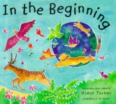 C has had loads of questions about Jesus, God and religion recently and we're not too sure where they've all come from.  However, we're doing our best to answer them in a way he can grasp for now and this book is a fun way of sharing this creation story.