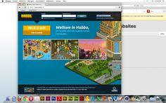 habbo hotel is een slechte website want je kan snel met verkeerde mensen in contact komen