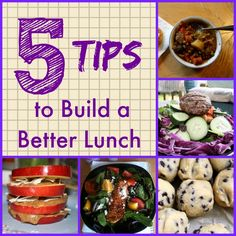 5 Tips to Build a Better Lunch and A few recipes to get you started. | http://friskylemon.com/2014/08/26/5-tips-to-build-a-better-lunch-a-few-recipes-to-get-you-started/