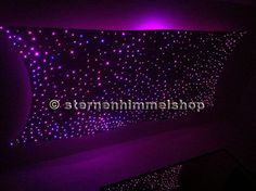 Epic Glasfaser Sternenhimmel mit LED Technik Lichtpunkte Komplett Einbau Set