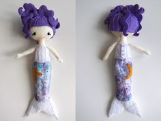 I have a major fascination with small dolls. I discovered this pattern from Gingermelon on Etsy for Pocket Pixies. They are about 7-1/2 inches tall, and sewn entirely by hand from felted wool. I go...