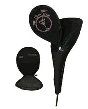 Bling Head Covers - Customize driver and fairway wood head covers with you tournament logo or theme in rhinestones!