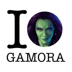 Check out this awesome 'I+Love+Gamora+Guardians+of+the+Galaxy' design on @TeePublic!