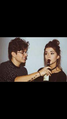 Maia Mitchell and boyfriend-so cute