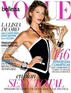 Gisele Bundchen Vogue Beauty Mexico Spring Summer 2012