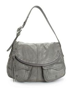Lucky Brand Handbag, Foldover Pocket Leather Bag...they had this one, but its tad too small    but love their leather   this is butter