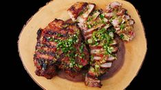 The Perfect Grilled Lemongrass Pork - Seonkyoung Longest Grilled Chicken Salad, Chicken Salad Recipes, Grilled Pork, Easy Pork Chop Recipes, Pork Rib Recipes, Asian Recipes, Vietnamese Recipes, Cambodian Recipes, Vietnamese Food