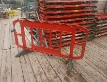 SPARE CONTROL ROAD BARRIERS RED ideal for events and fairs - Product SpareBoxes.com