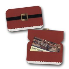 Great gift card holder from #archivers