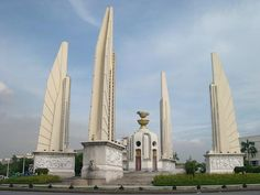 Freedom Monument in Bangkok City Thailand