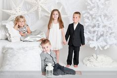 There is an online company called Borrow Mini Couture that rents designer kids clothing for photo shoots. They had me do a couple themed . Christmas Settings, Christmas Photo Cards, Christmas Photos, White Christmas, Christmas Minis, Christmas Mini Sessions, Christmas Photography, Designer Kids Clothes, Children Photography
