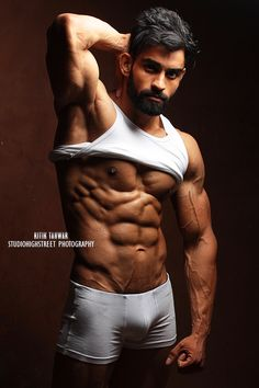 Bodybuilding models photography