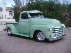 Old Car on line 1953 Chevy...Can I have it in pink?