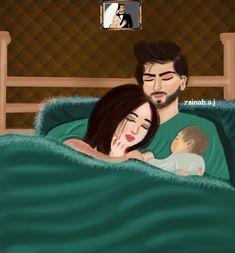 Sana Love Cartoon Couple, Cute Love Cartoons, Cute Couple Art, Anime Love Couple, Cute Couples, Mother Daughter Art, Mother Art, Couple Drawings, Love Drawings