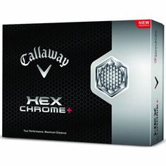 Callaway Hex Chrome Plus Golf Ball, (One Dozen), White Gary Woodland, Pga Tour Players, Wilson Golf, Birthday Presents For Dad, Crazy Golf, Phil Mickelson, Callaway Golf, Golf Irons, Sport