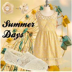 Summer, created by alihawker on Polyvore