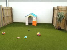 After artificial K9Grass install by ForeverLawn of Ohio