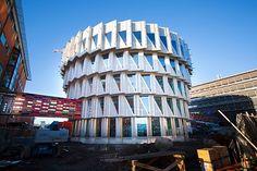 the cogwheel - Kuggen, Chalmers University, Gothenburg, Sweden    the Kuggen naked