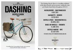 Brooks Dashing Bicycle Show Brooks England, Prince, Cool Bikes, Washington Dc, City, Bicycles, Denver, Events, Wallpaper