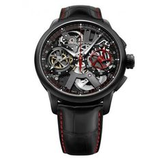 Maurice Lacroix Masterpiece Le Chronographe Squelette by kim Dream Watches, Fine Watches, Men's Watches, Luxury Watches, Cool Watches, Fashion Watches, Watches For Men, Wrist Watches, Unique Watches