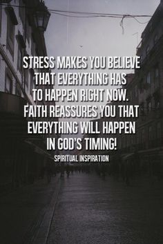 Hope we know to not be rushing what is going on right now. Do not make any bad decisions based on what is current. God has the answer n will pull us thru stronger. Trust in God's timing! #Christianity #Spirituality #Inspiration #Quotes #Trust #Faith #Life