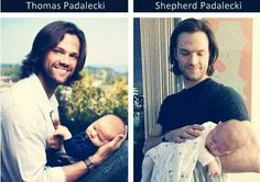 Jared with his baby boys #FutureMoose