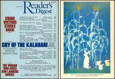 "Reader's Digest front and back cover, June 1985  Art Director:Donald H. Duffy Artwork on back: ""Moon Light"" byShoko Uemura"
