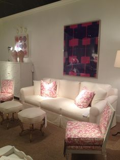 High Point Market Spring 2012-More of the Suzanne Kasler Furniture and Fabric Collections by Hickory Chair and Lee