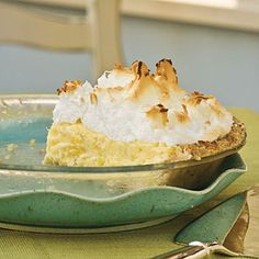 Pineapple Meringue Pie - Quick Summer Pie Recipes - Southern Living