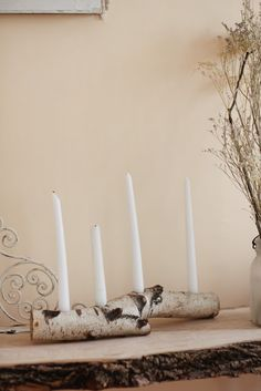 świecznik z brzozy drewniane inspiracje diy eco manufaktura