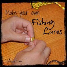 making fishing lures