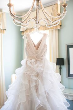gorgeous ruffled gown | Dana Cubbage #wedding
