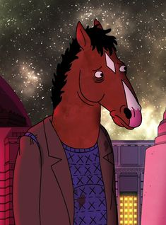 As BoJack gets ready to say goodbye he does so with a little help from a bit of indie rock and a Lady Gaga soundalike. Rick I Morty, Top Tv Shows, Films Cinema, Bojack Horseman, Cartoon Crossovers, Animation Series, Art Inspo, Illustration Art, Fan Art