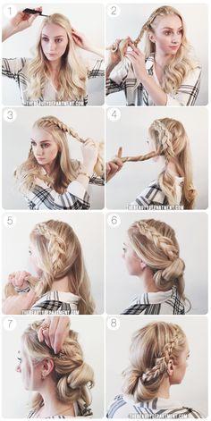 the beauty department braid wrap chignon