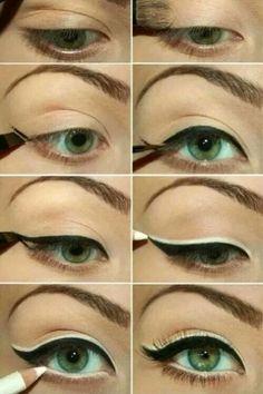 Para agrandar el ojo