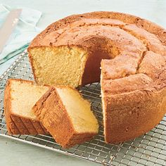 Million Dollar Pound Cake - 101 Best Classic Comfort Food Recipes - Southern Living