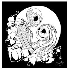 Free Nightmare Before Christmas Pages Abc Coloring Pages