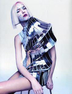 Stephanie Rad for Tush S/Sum 2011. Photography by Armin Morbach #fashion #editorial #futuristic