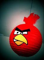 angry bird lantern decoration