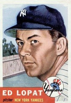 87 - Ed Lopat - New York Yankees