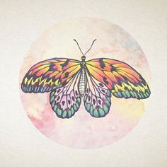 Butterfly Print Instant Download Print Art by Vera Lambert at NINE sqm Shop on Etsy