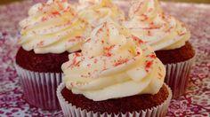 Cómo hacer Cupcakes Red Velvet o Cupcakes de Terciopelo Rojo | LHCY