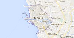 Manila, Philippines San Juan Port, Makati City, Manila Philippines, Map, Places, Location Map, Maps, Lugares