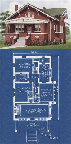 1921 american homes beautiful by cl bowes co, design 12000.  This is a great bungalow design