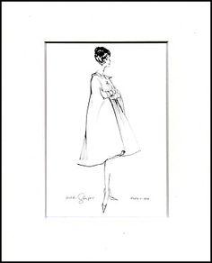Robin c.1958 Matted Print