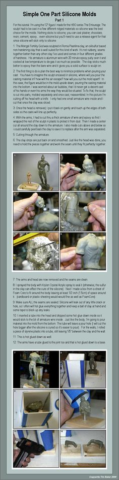 Silicone Mold Tutorial part 1 by TimBakerFX.deviantart.com on @deviantART